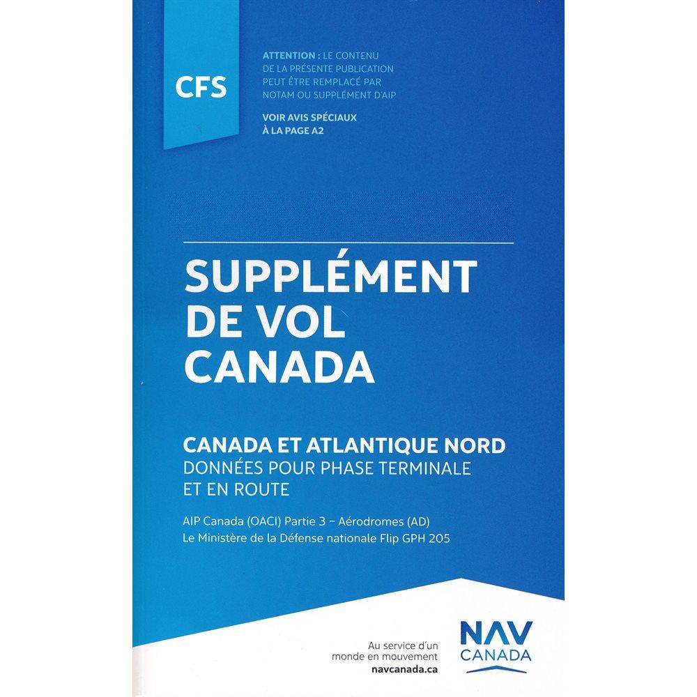 Supplément de vol Québec - CFS QC
