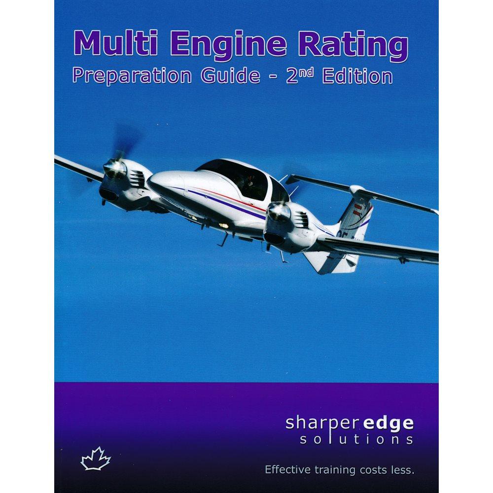 Multi Engine Rating Prep Guide SharperEdge - 2nd Edition
