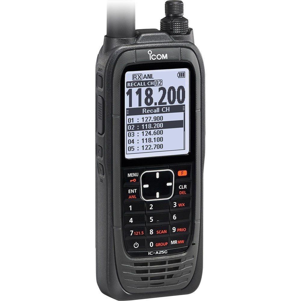 Émetteur-récepteur VHF Icom A25C - Com