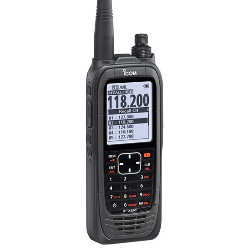 Icom A25C Sport Radio with AA Battery Pack