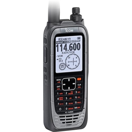 Icom A25N NAV / COM With GPS and Bluetooth