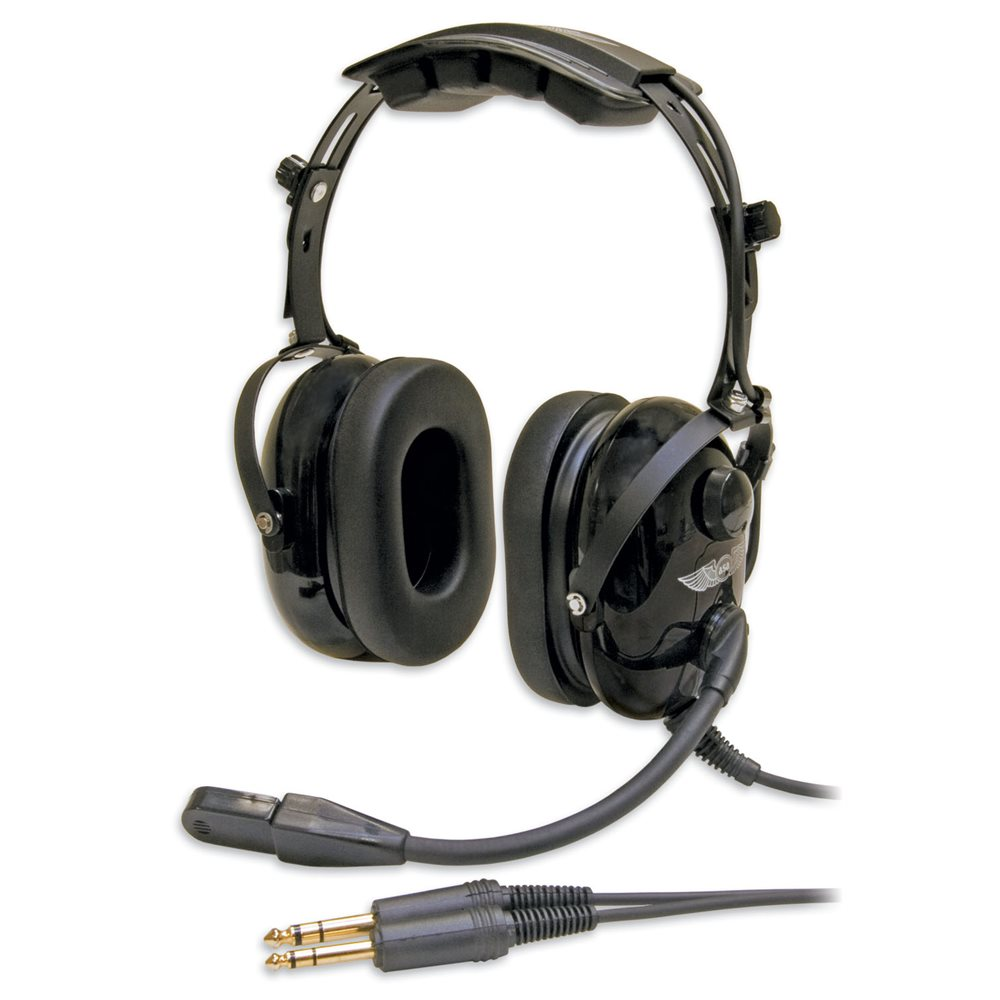 ASA HS-1A Passive noise Reduction (PNR) Headset with Limited Lifetime Warranty!