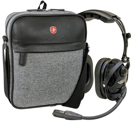 ASA HS-1A Passive Noise Reduction (PNR) Headset Combo with Headset Bag with Limited Lifetime Warranty!