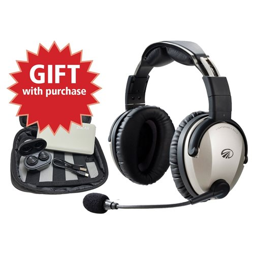 LIGHTSPEED ZULU 3 - HELICO Active Noise Reduction (ANR) Headset with Bluetooth
