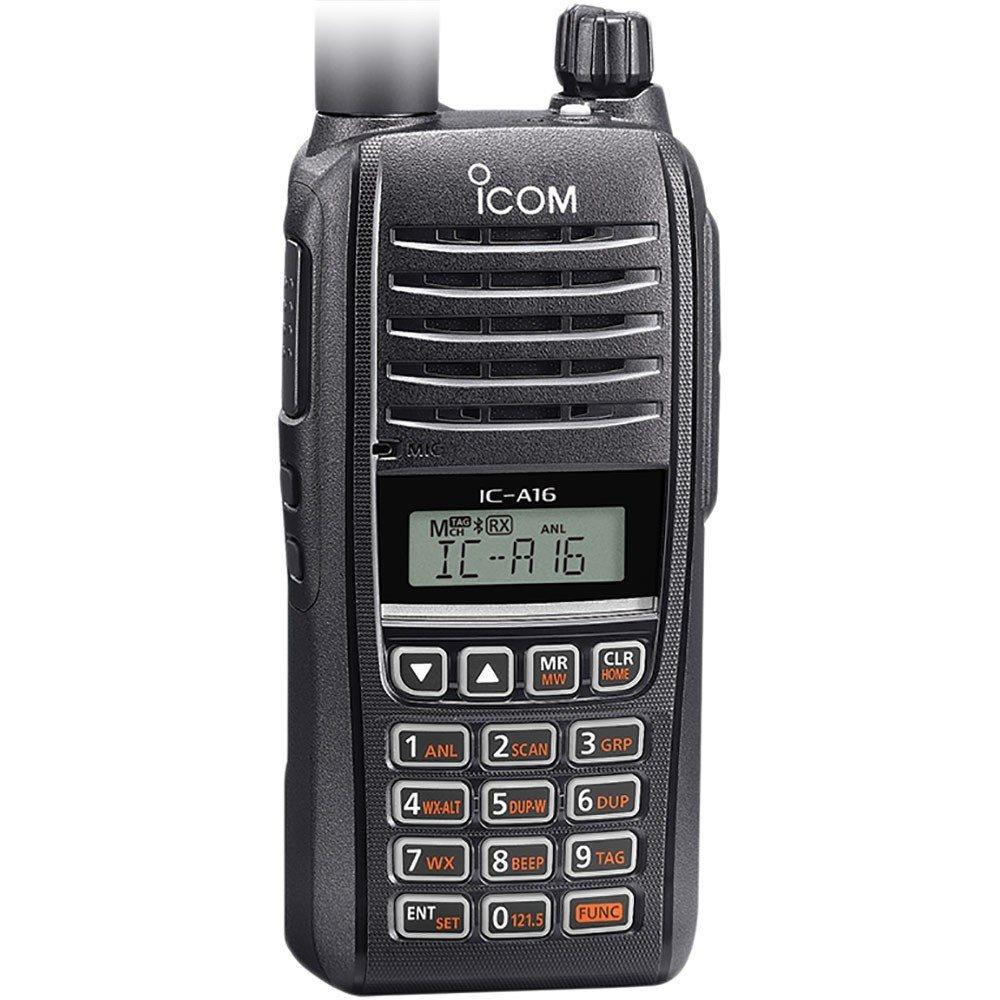 Icom A16B VHF Transceiver - COM with Bluetooth