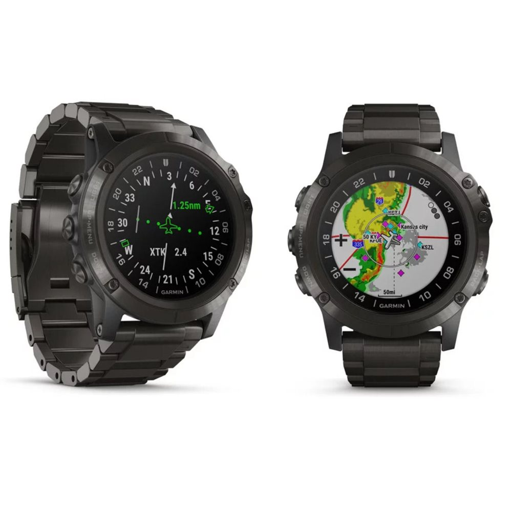 Garmin D2 Delta PX Aviator Watch with DLC Titanium Band