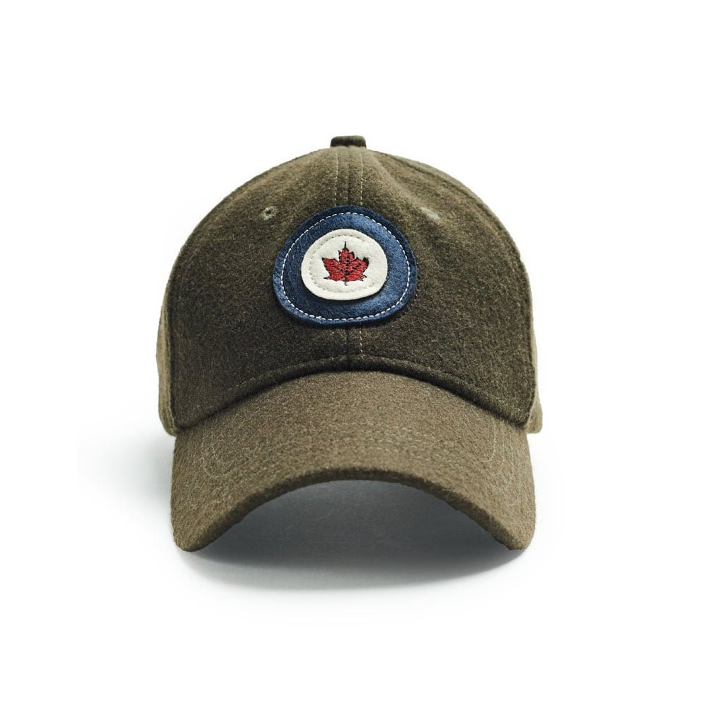 RCAF Wool Cap Khaki