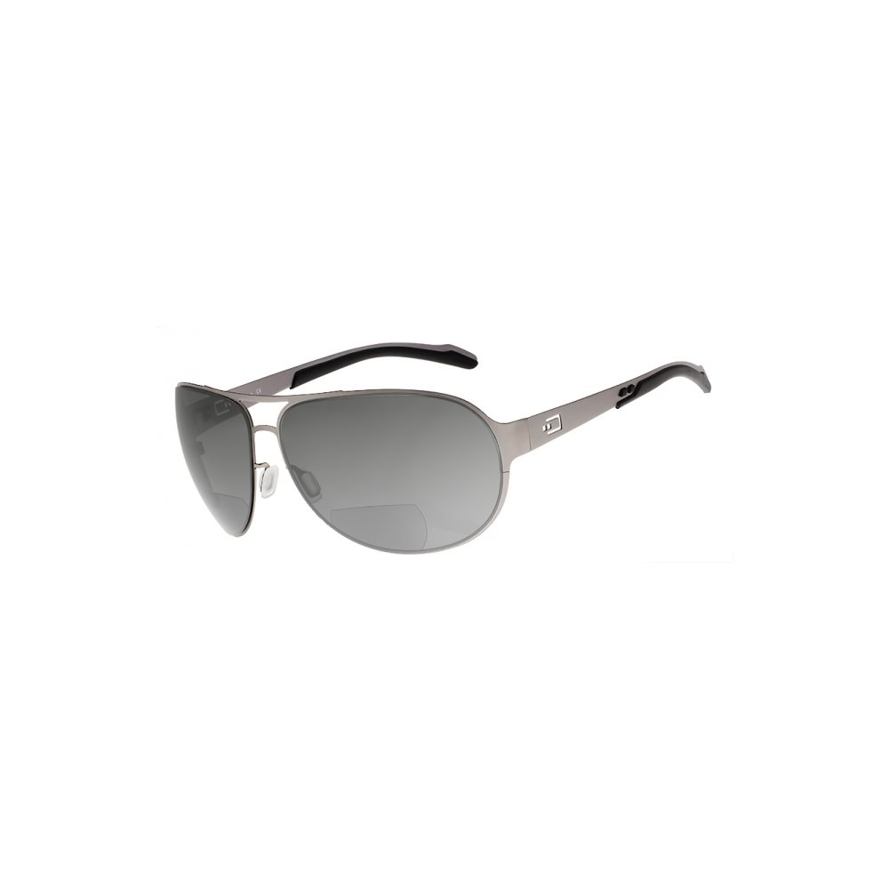 DUAL AV2 SUNGLASSES GRAY LENS WITH READERS magnification (+1,5)