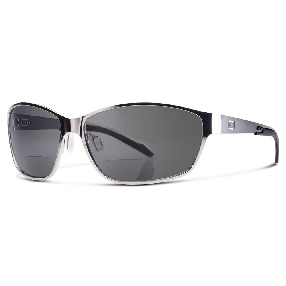 DUAL AV1 SUNGLASSES GRAY LENS WITH READERS magnification (+1,5)