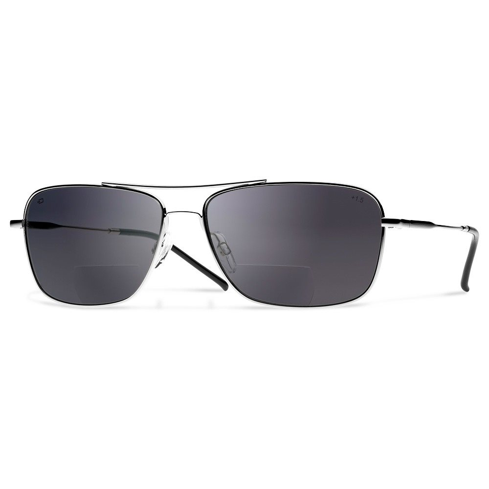 Dual Q1 Sunglasses Gray Lens with Readers (+1.5)