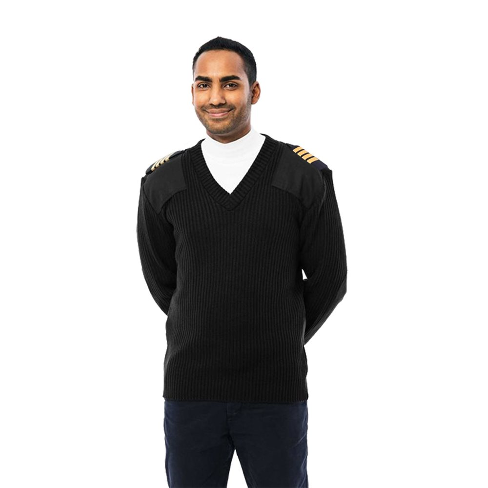 Pilot  Sweater Black - Small