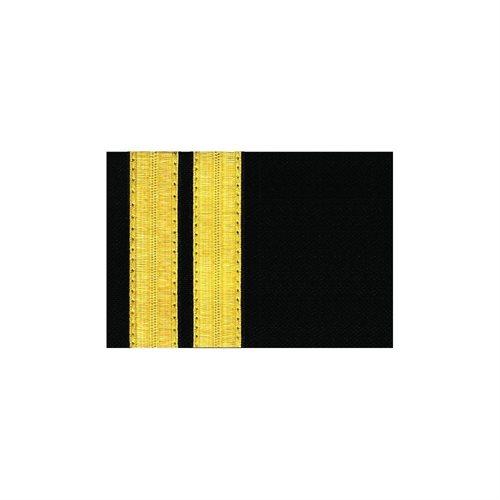 Pilot Epaulets Navy - 2 Bar Gold
