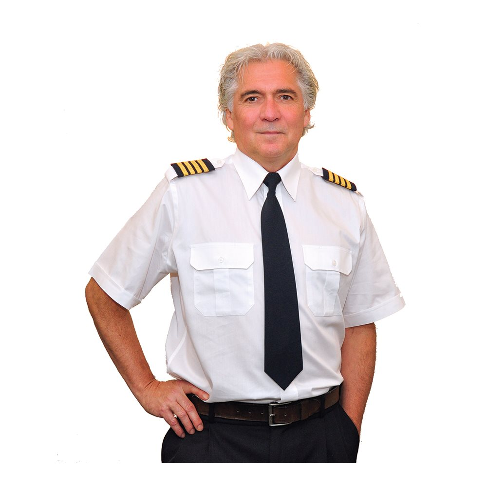 "Pilot Shirt 14.5"" - Small"